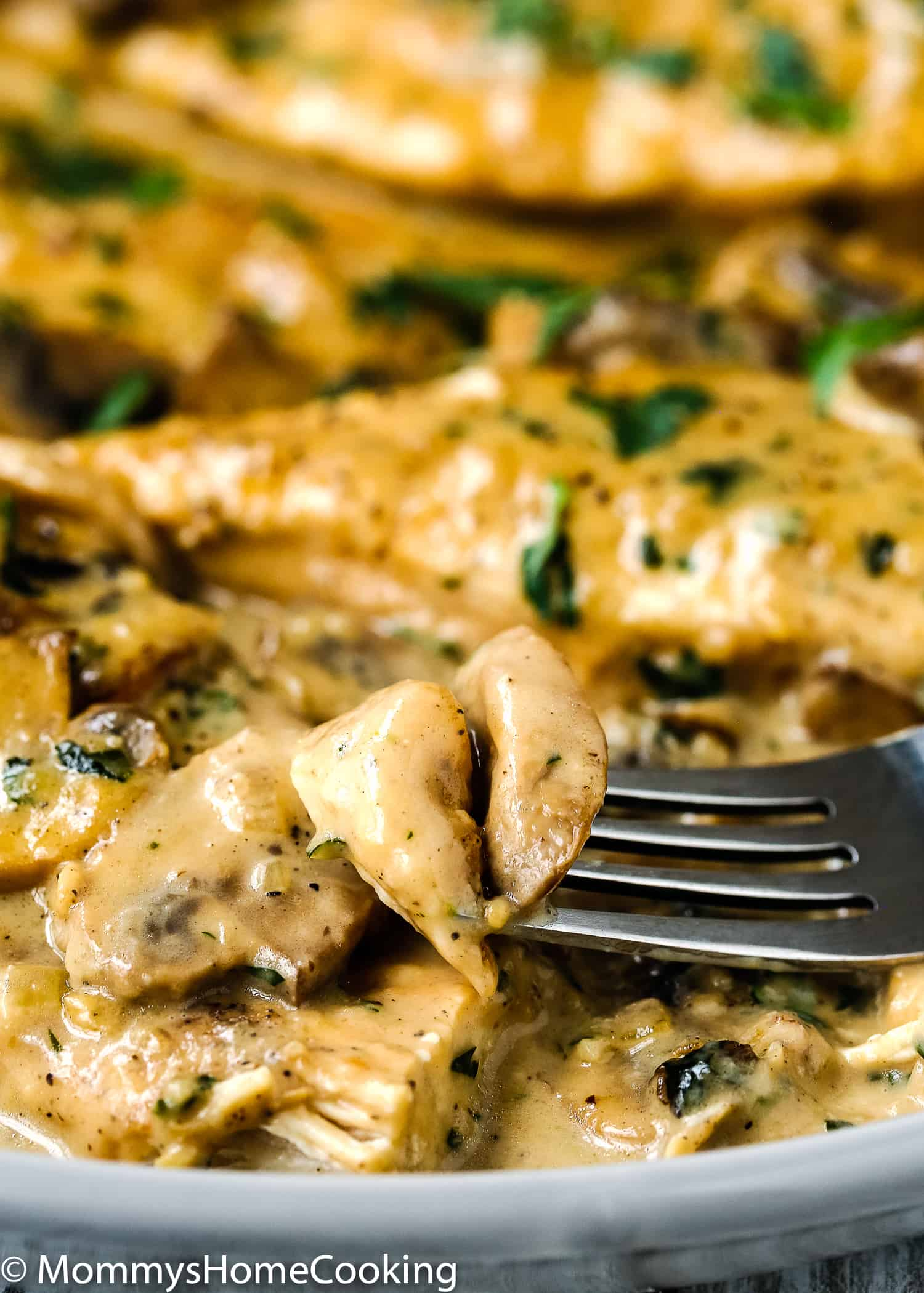 This Easy Instant Pot Chicken Marsala is one of the easiest dinner ever! It's creamy, succulent, ultra-flavorful, and easy to pull off. It comes together in about 30 minutes, which in my book, it makes it the perfect weeknight meal. https://mommyshomecooking.com