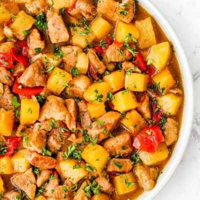 Instant Pot Hawaiian Pineapple Pork