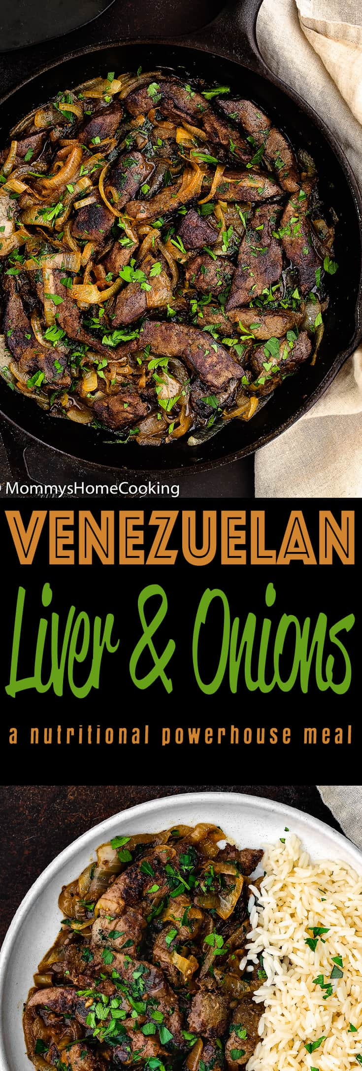 This Venezuelan Beef Liver and Onions is super flavorful and easy to make! Be a culinary adventurer and open your senses to this nutritional powerhouse meal. Plus, it's a fabulous alternative to your usual dinner rotation and budget-friendly. https://mommyshomecooking.com