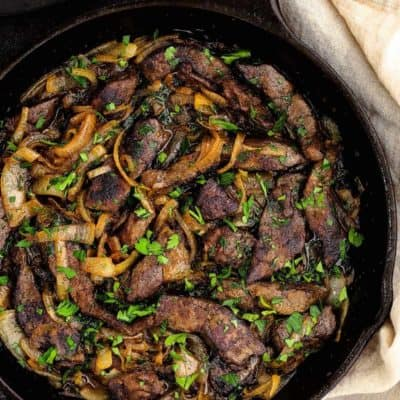 Venezuelan Beef Liver and Onions