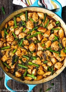 Easy Healthy Chicken and Asparagus Skillet