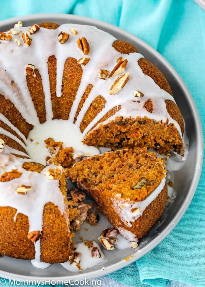 Eggless Carrot Cake | Mommy's Home Cooking