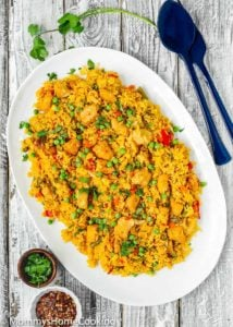 Easy Instant Pot Arroz con Pollo
