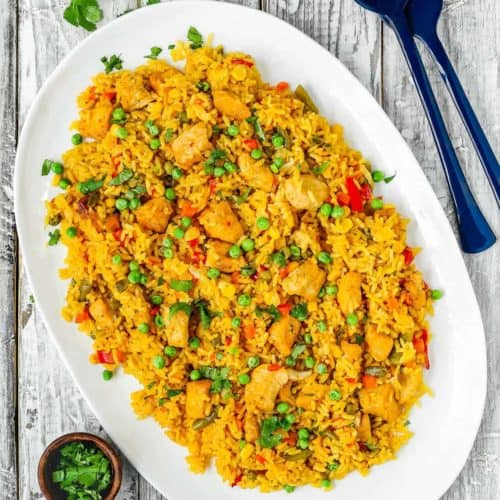 Easy Instant Pot Arroz Con Pollo Mommys Home Cooking