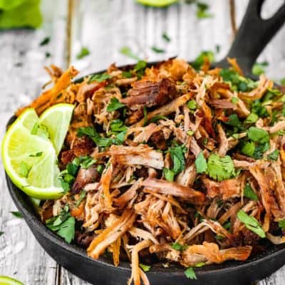 Instant Pot Crispy Pork Carnitas
