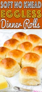 Soft No Knead Eggless Dinner Rolls | Mommy's Home Cooking