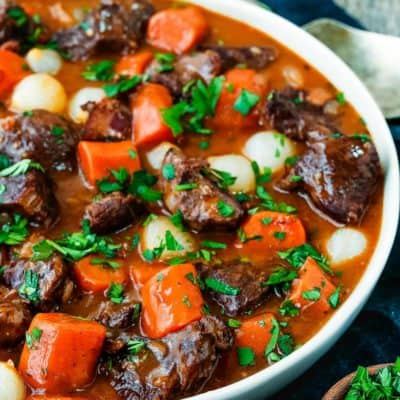 Easy Instant Pot Beef Bourguignon