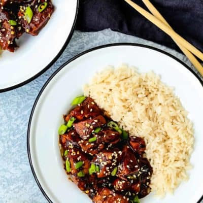 Easy Instant Pot General Tso's Chicken [recipe+video]