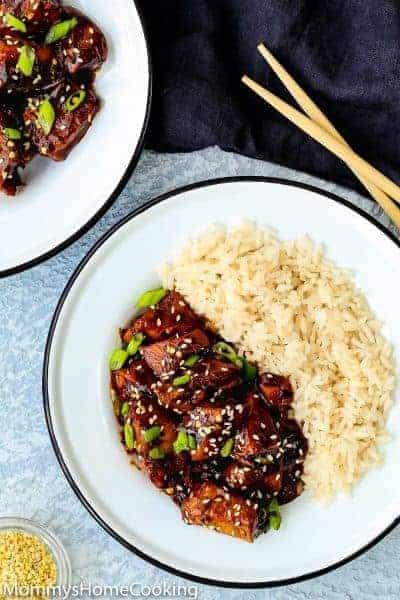 Easy Instant Pot General Tso's Chicken [recipe+video]