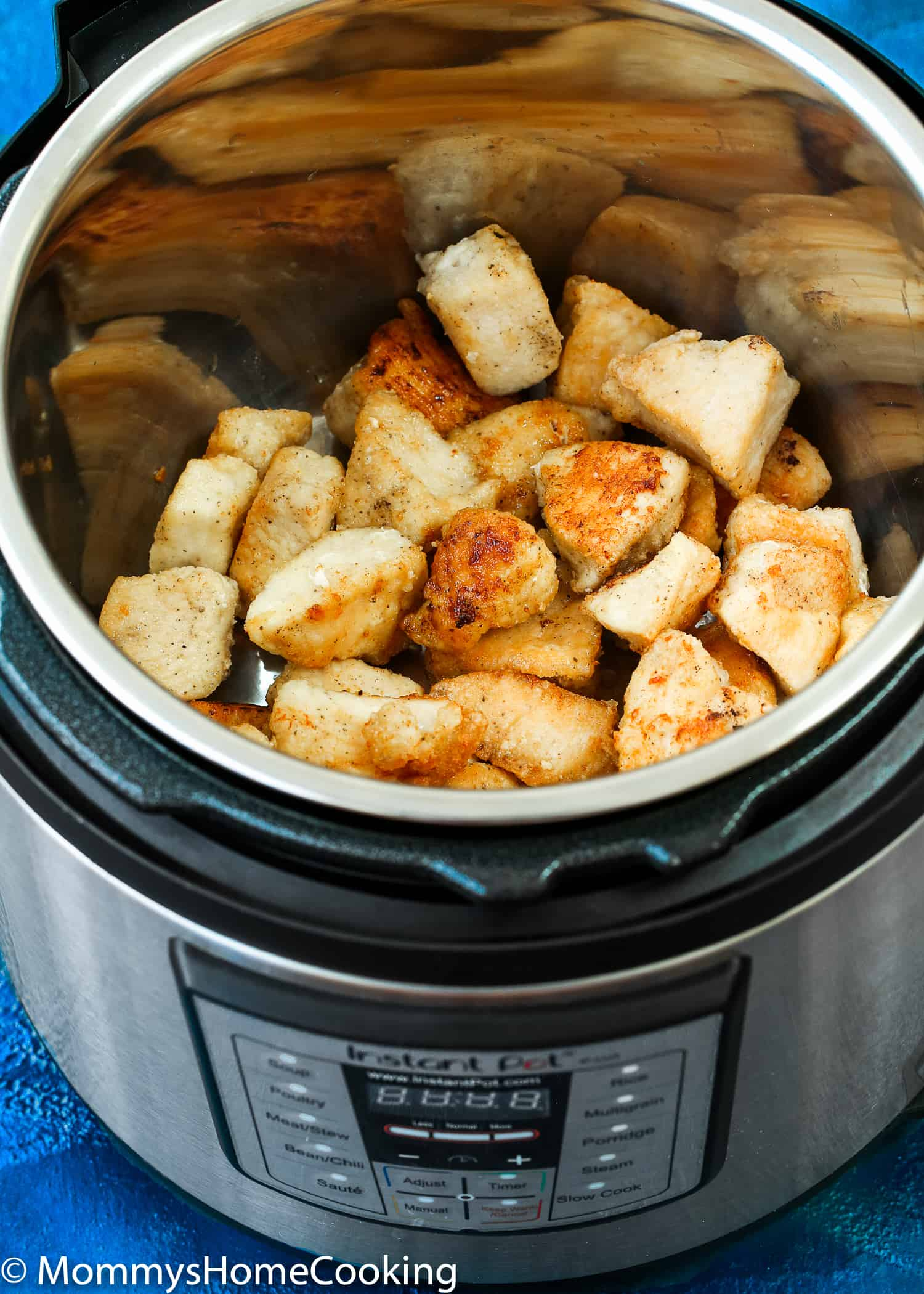 How to make Easy Instant Pot Orange Chicken in the instant pot