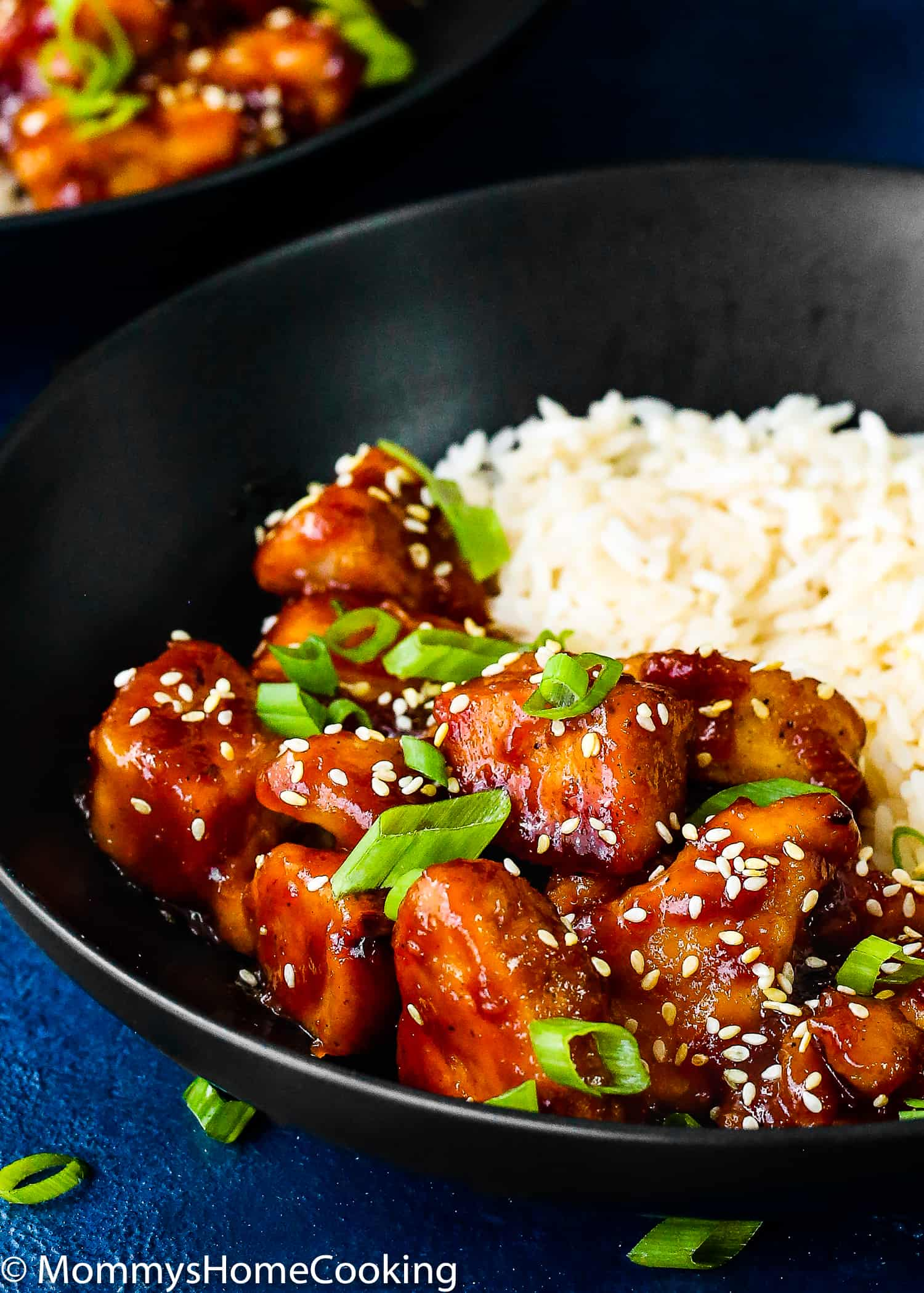 Easy Instant Pot Orange Chicken close up