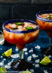 Spicy Salsa Margarita | Mommy's Home Cooking