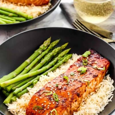 Easy Teriyaki Salmon | Mommy's Home Cooking