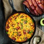 Meat Lovers Breakfast Skillet | Mommy's Home Cooking