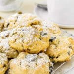 Eggless Prune-Pistachio Scones | Mommy's Home Cooking