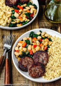 Easy Sausage and Bean Quinoa Bowl | Mommy's Home Cooking