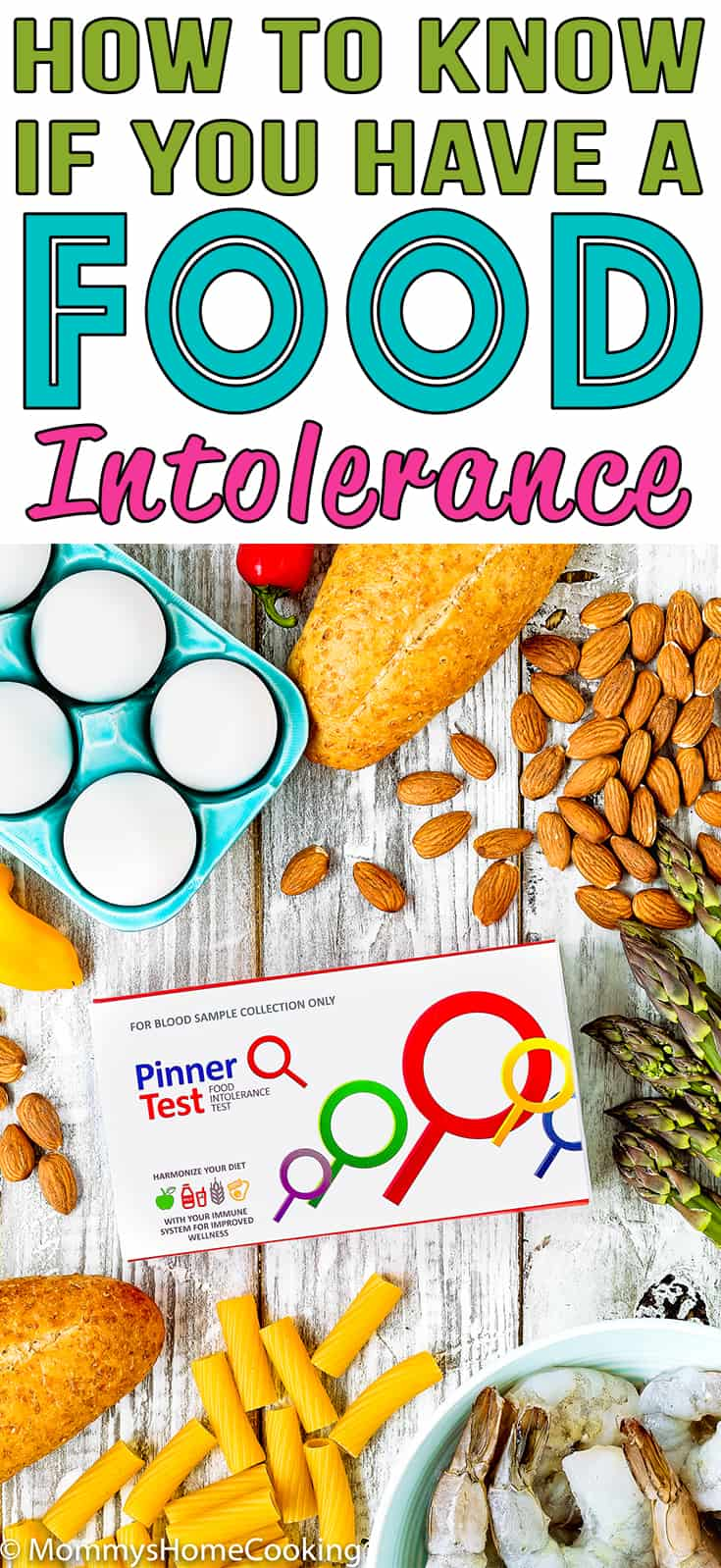 If you feel under the weather all the time and your doctor never find an obvious reason why you might have a food intolerance. Click to learn How to Know If You Have A Food Intolerance with an easy and convenient test you can take in the comfort of your own home. https://mommyshomecooking.com