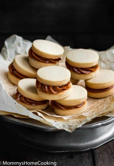 Eggless Dulce de Leche Shortbread Sandwich Cookies | Mommy's Home Cooking