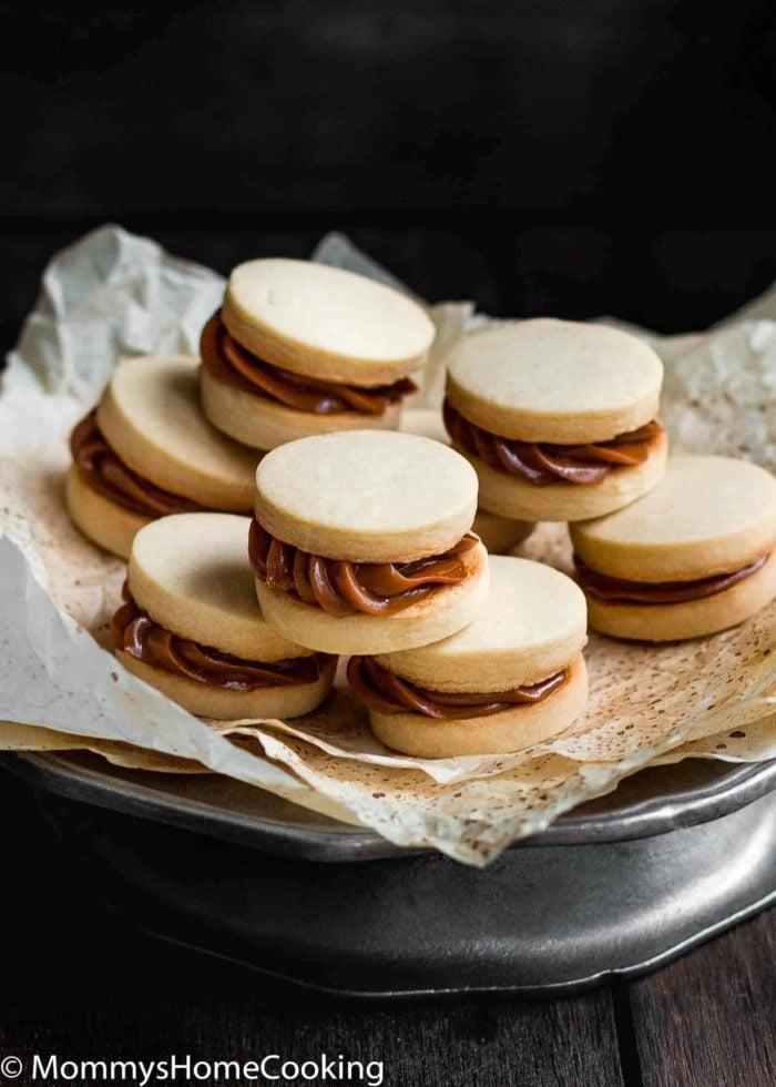 Eggless Dulce de Leche Shortbread Sandwich Cookies | Mommy's Home Cooking