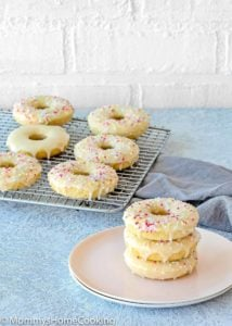 Easy Eggless Baked Donuts | Mommy's Home Cooking