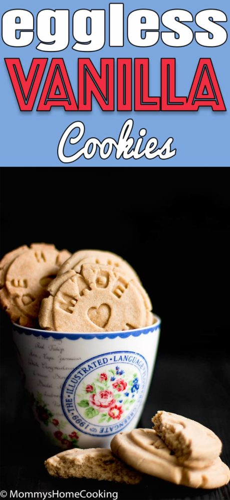Easy Eggless Vanilla Cookies | Mommy's Home Cooking