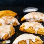 Eggless Pumpkin Chai Scones | Mommy's Home Cooking