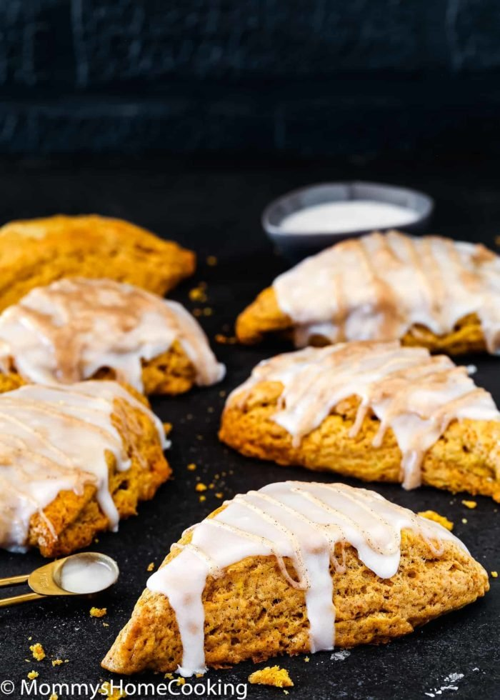 Eggless Pumpkin Chai Scones   Mommy's Home Cooking
