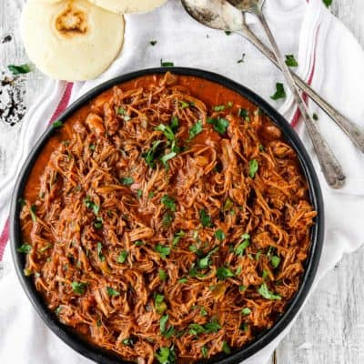 Instant Pot Venezuelan Shredded Beef