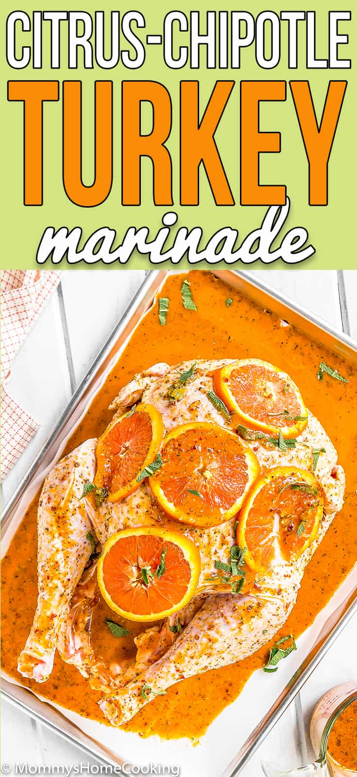 Look no further for the Best Turkey Marinade recipe ever! This BEST Citrus-Chipotle Turkey Marinade not only keeps your turkey moist but incredibly flavorful. Simple to prepare, and totally delicious. #recipe #turkey #marinade #thanksgiving