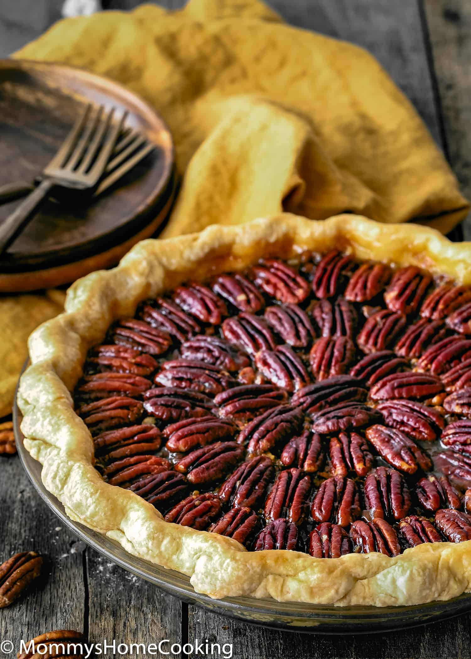 delicious whole Easy Eggless Pecan Pie