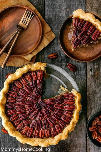 Easy Eggless Pecan Pie | Mommy's Home Cooking