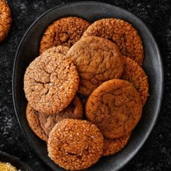 Eggless Soft Molasses Cookies | Mommy's Home Cooking