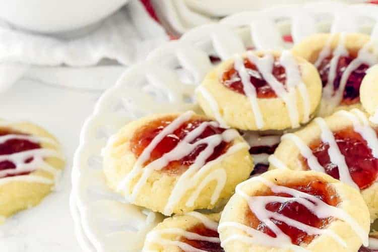 Eggless Thumbprint Cookies | Mommy's Home Cooking
