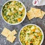 Instant Pot Creamy Chicken Noodle Soup Recipe | Mommy's Home Cooking