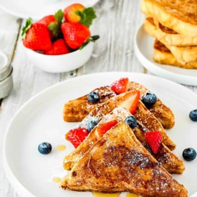 BEST Eggless French Toast