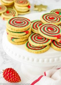 Eggless Icebox Christmas Pinwheel Cookies | Mommy's Home Cooking
