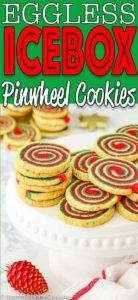 Eggless Icebox Christmas Pinwheel Cookies | Mommy's Home Cooking