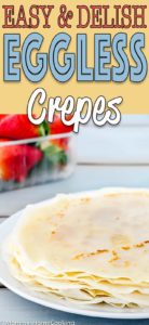 Easy Eggless Crepes Recipe | Mommy's Home Cooking