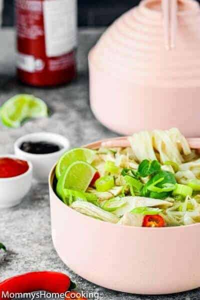 Easy Instant Pot Chicken Pho | Mommy's Home Cooking
