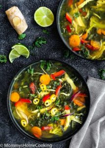 Easy Instant Pot Detox Soup | Mommy's Home Cooking