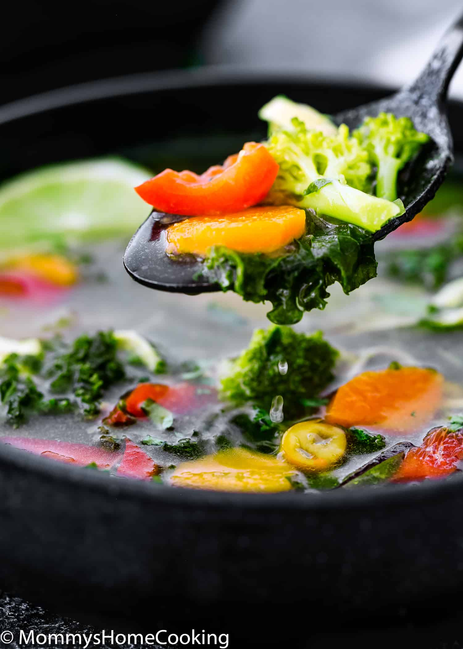 This Easy Instant Pot Detox Soup is delicious, comforting, flavorful and healthy! Easy to make with wholesome ingredients, this soup will help you to reset your body every time you need it. https://mommyshomecooking.com