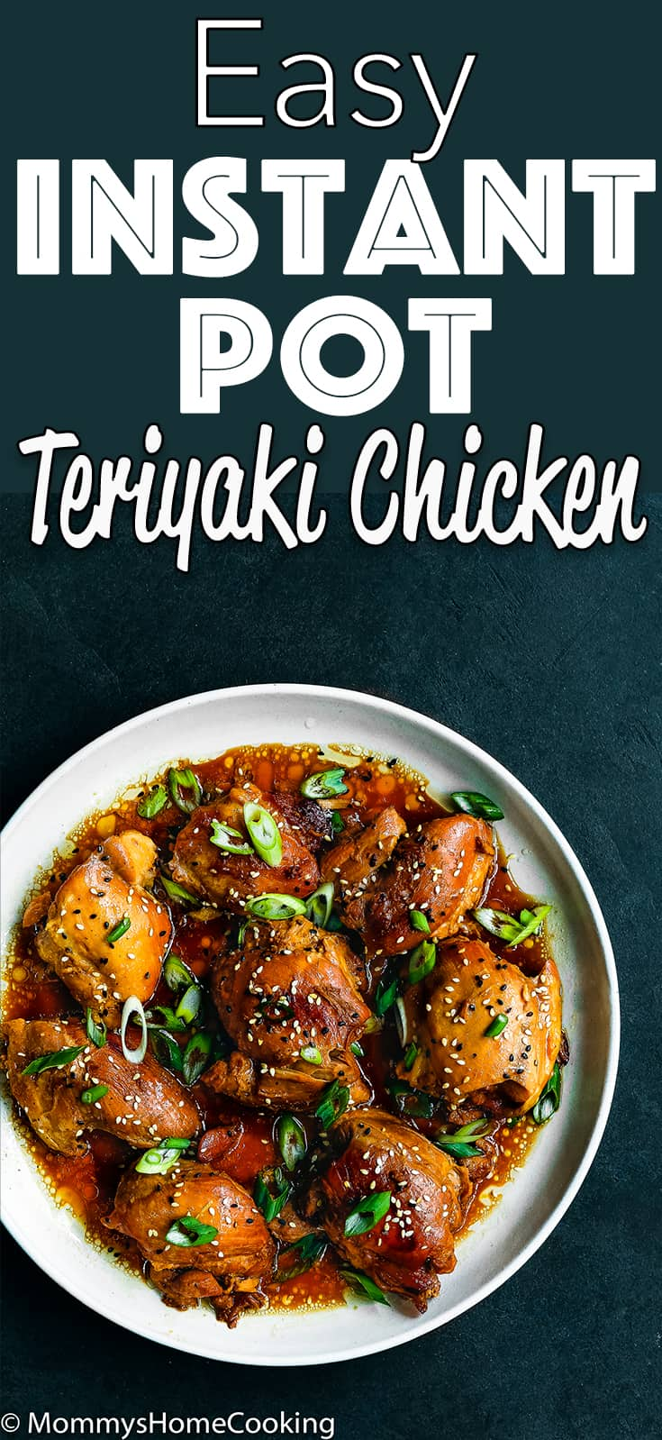 This Easy Instant Pot Teriyaki Chicken recipe is perfect for your weeknight's dinner repertoire! Easy to make with just a few ingredients, this flavorful chicken will quickly become a family favorite. #recipe #instantpot #pressurecooker #chicken #dinner #teriyaki