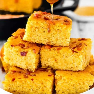 BEST Eggless Cornbread