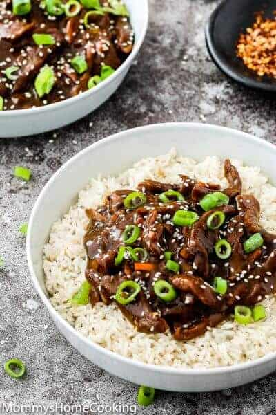 Easy Instant Pot Mongolian Beef | Mommy's Home Cooking