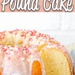 Easy Eggless Vanilla Pound Cake | Mommy's Home Cookng