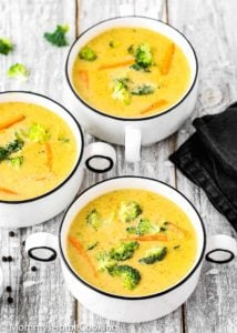 Easy Instant Pot Broccoli Cheddar Cheese Soup | Mommy's Home Cooking