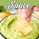 Easy Avocado Sauce | Mommy's Home Cooking