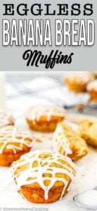 Fluffy and Moist Eggless Banana Muffins
