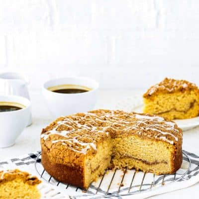 Easy Eggless Coffee Cake