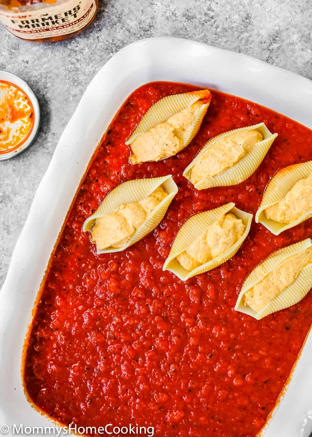 How to stuffed pasta shells with ricotta